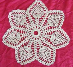 Vintage Crochet Doily Pattern--free pattern
