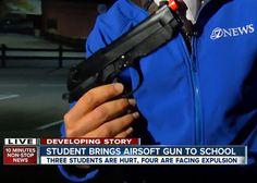 Laredo Middle School Airsoft Incident