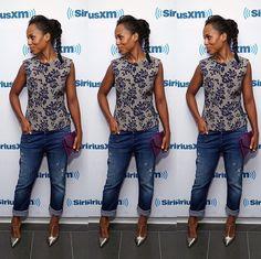 Jeans/heels