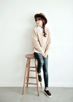 Simple and Sexy Korean Fashion Looks0011 More