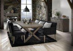 Dining Room Sofa Modern - Best Home Decorating Ideas - How To Design A Room - homehomedecor Modern Sofa, Modern Decor, Dining Bench, Dining Room, Home Living, Home Furniture, Interior Design, House, Home Decor