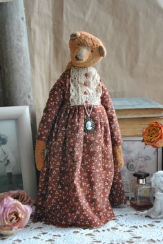 Teddy Bear Lady – shop online on Livemaster with shipping
