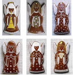 Gingerbread Cookies, Christmas Cookies, No Bake Cookies, Cookie Decorating, Christmas Decorations, Baking, Food, Design, Holiday Cookies