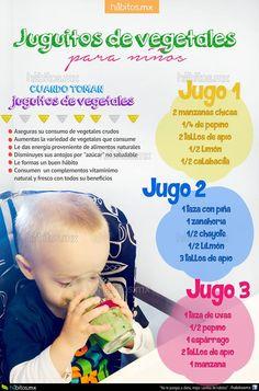 Hábitos Health Coaching   JUGUITOS DE VEGETALES PARA NIÑOS