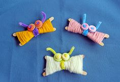 We Made That: Yarn Butterflies