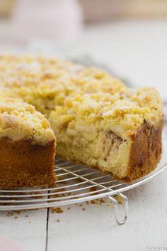 Diese Art Kuchen sind die besten: Ihr stecht mit der Gabel durch eine krosse Schicht