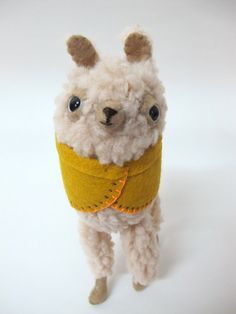 Small Wooly Alpaca