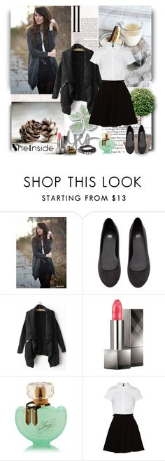 """""""SheInside."""" by artlove1997 ❤ liked on Polyvore featuring H&M, Burberry and Alice + Olivia"""