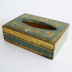 Vintage 50s Italian Florentine Gilded Gold by SanDiegoVintage, $24.00