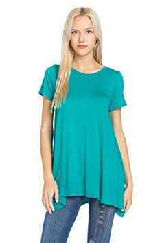 Frumos Womens Short Sleeve Long Tunic Top Jade Medium   Special Offer: $14.50      199 Reviews Frumos is a new clothing company seeking to positively impact and change the fashion industry.We strive to unify different cultures and diversities through fashion. Please check sizing info to...