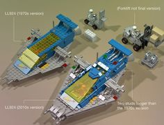 Sometimes more is less. / LEGO Ideas - Classic Space Adventures: LL924 Transporter
