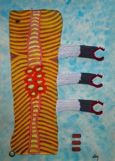 "Saatchi Online Artist ABBA ARTIST; Painting, ""Stop Smoke!!!"" #art"