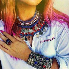 #afghani #style #jewelry #Afghanistan #bracelet