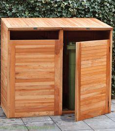Dubbele kliko ombouw gemaakt van het beste hardhout. Deze kliko ombouw beschikt over een gasveer waardoor de kliko ombouw gemakkelijk open en dicht gaat.