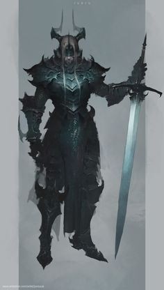 Men in fantasy art Fantasy Character Design, Character Design Inspiration, Character Concept, Character Art, Fantasy Armor, Dark Fantasy Art, Medieval Fantasy, Dark Art, Dnd Characters