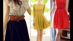 como hacer vestidos faciles - YouTube