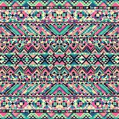 Tribal #azules #rosados