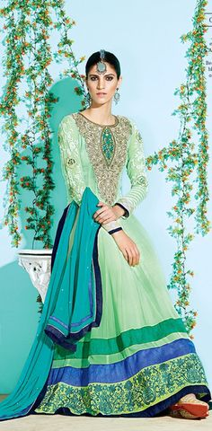 Mint Green and Teal Anarkali. Money makes Fashion happen. Adooye makes Money happen ! Call me, Vivek, 9844158155, find out how ! Free demo ! Watch ads daily, talk to people about the Adooye Opportunity. Encourage them to join you. Develop a good team and you could earn in lacs per month, with income growing every month.