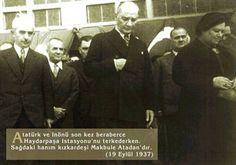 Atatürk ve İnönü Haydarpaşa Gar'ında