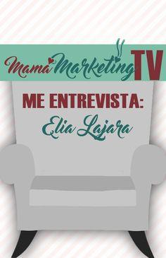 Me entrevista Elia Lajara. Hablamos de emprendimiento, marketing, homeschooling, maternidad... Marketing, Tv, Blog, Home Decor, Interview, Decoration Home, Room Decor, Television Set, Blogging