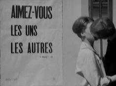 ENG. Love each other.  descroissants:    Le Petit Soldat (JLG, 1960)