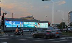 Virgin Atlantic advertising #DigitalSignage #Doohdas
