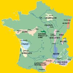 The Loire River roughly 30 miles East of Blois in the center of the map is Orleans where I come from! What a beautiful country: I am homesick now!