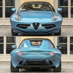 Alfa Romeo Cars, Super Sport Cars, Touring, Motors, Spider, Concept Art, Classic Cars, Mini, Vehicles