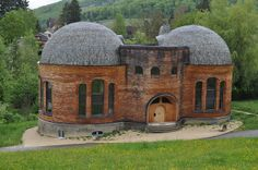 Rudolf Steiner - Goetheanum   This would make a wonderful art studio!  how inspired!