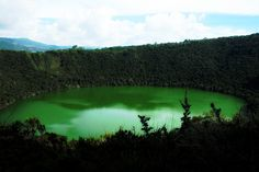 Lake Guatavita, Colombia  THE LEGEND OF EL DORADO.  This was a trip taken not so long ago with my mom, Stevie, unlce Nelson, aunt Gloria and cousins Sammy and Federico.  Breathtaking views and a cool legend to go with it.  Stevie last year painted a canvas of El dorado for our home.
