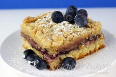 Blueberry Crumb Buns