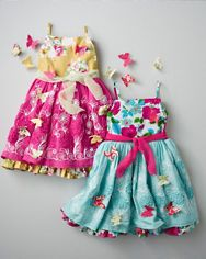 Butterfly Fantasia Dress by Moxie  Mabel - Girls Inspiration