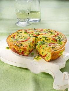 Bunte Gemüse-Frittata mit Mangold