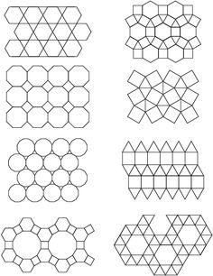 Semiregular tessellations