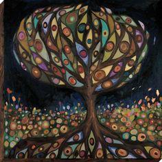 Oopsy Daisy Glass Tree  by eli halpin