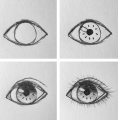 I have a thing for drawing eyes.