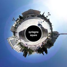 syntagma square panorama