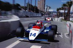 Clay Regazzoni, Ensign, United States Grand Prix, 1980.