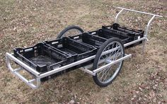 Aluminum Harvest Cart Plans