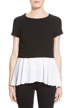 Bailey 44 Bailey 44 'MacGraw' PeplumTop available at #Nordstrom