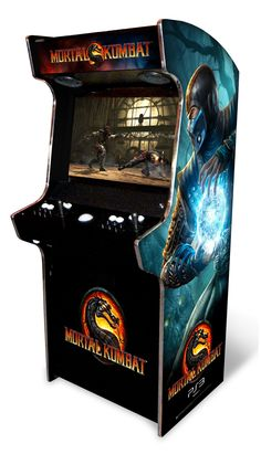 Mortal Kombat Arcade Game ! WANT <3