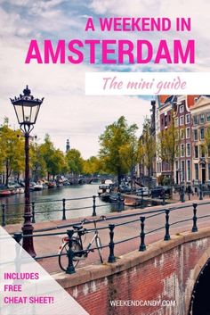 Amsterdam is a spider-web of a city, where bucolic canals, charming footbridges and cobbled side-streets offer surprises on every mid-17th century corner. Follow this mini guide to get to the heart of Amsterdam's treasures in a weekend!