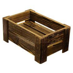 Ящик декоративный деревянный т14