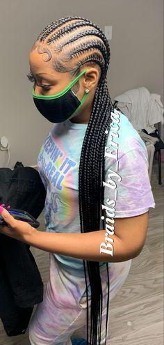 Feed In Braids Hairstyles, Twist Braid Hairstyles, Braided Hairstyles For Black Women, Baddie Hairstyles, Braids For Black Hair, Hair Ponytail Styles, Natural Hair Styles, Short Hair Styles, Hair Laid