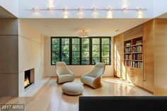 Totally transformed Spring Valley home relists for $3.85M - Curbed DCclockmenumore-arrow : Renovated by Robert Gurney