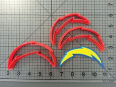 San Diego Chargers Cookie Cutter Set