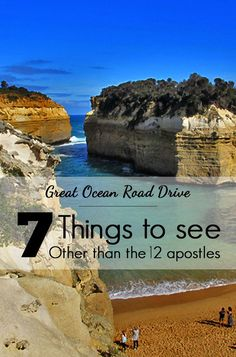 Don't just go to see the Twelve Apostles - there are so many other breathtaking attractions along the way and beyond. #familyroadtrip #greatoceanroad #roadtripaustralia #travelaustralia