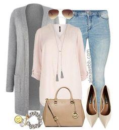 Plus Size Fashion for Women - Plus Size Casual Pastel Outfit - Alexa Webb - alexawebb.com #alexawebb