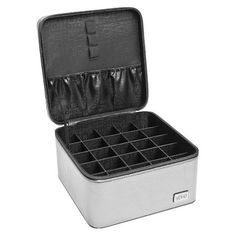 Ultimate travel case for packing and organizing beauty products when traveling. The Creativity Exchange