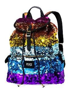 Colorful Sequin Backpacks for Girls - Glitter Sequin Backpacks for Girls
